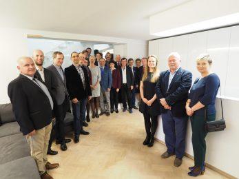 Posiedzenie Zarządu PFHBiPM i Polskiej Federacji Sp. z o. o. w Centrum Genetycznym