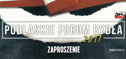 Podlaskie Forum Bydła 2017