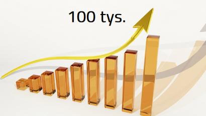 100 tysięcy to dobry początek